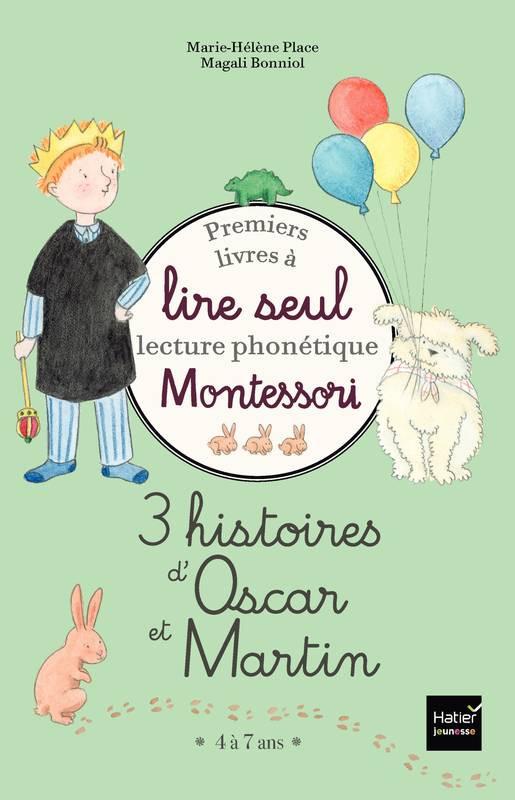 Couverture de 3 histoires d'Oscar et Martin - Coffret