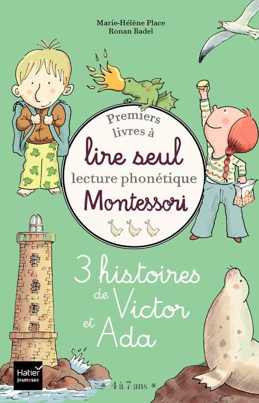 Couverture de 3 histoires de Victor et Ada - Coffret