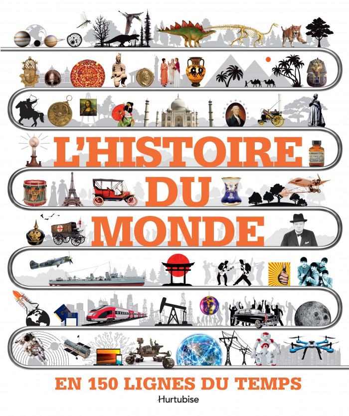 Couverture de L'histoire du monde en 150 lignes du temps
