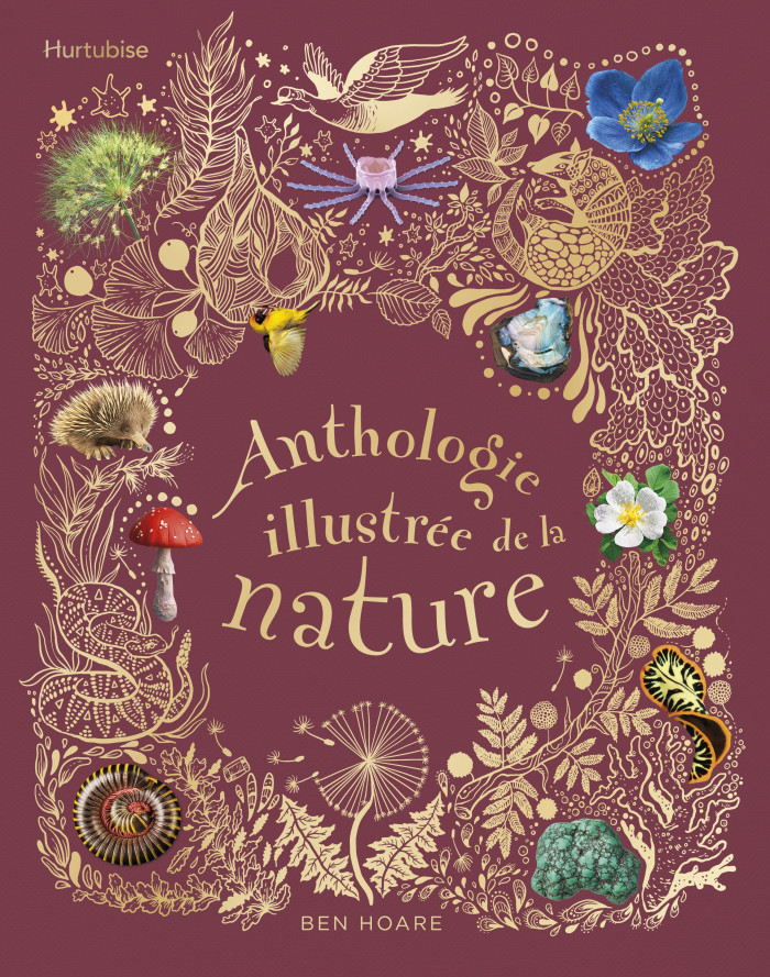 Couverture de Anthologie illustrée de la nature
