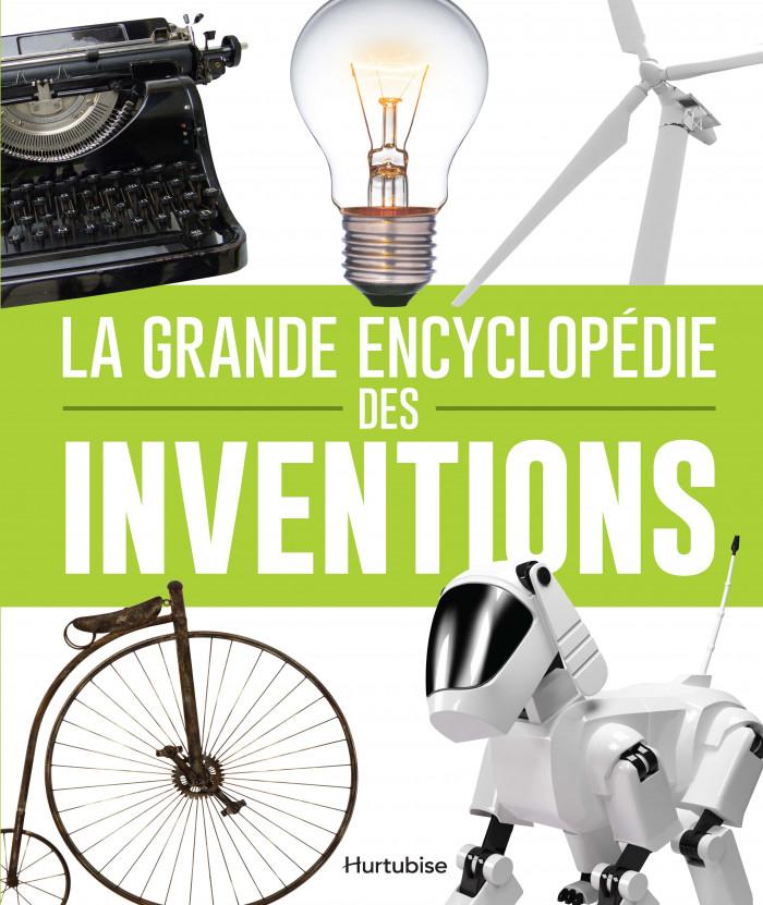 Couverture de La grande encyclopédie des inventions