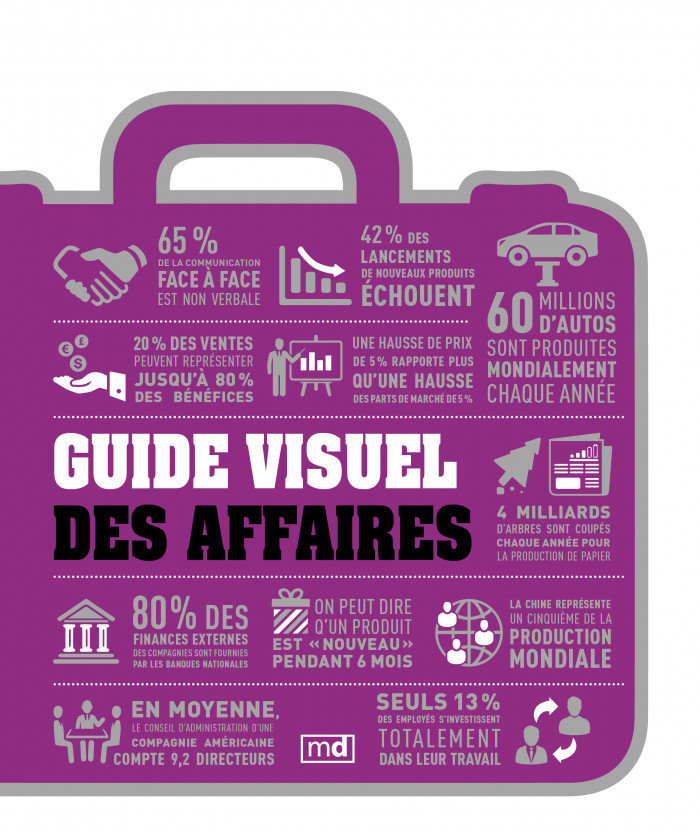 Couverture de Guide visuel des affaires