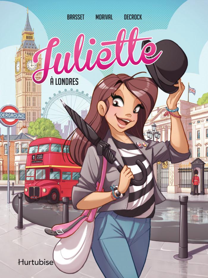 Couverture de Juliette à Londres - La BD