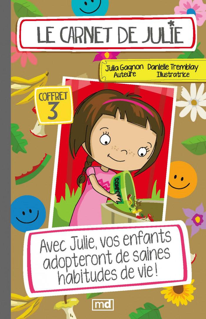 Couverture de Le carnet de Julie - Coffret 3