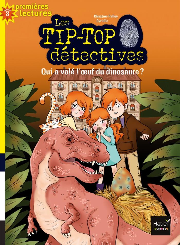 Couverture de Qui a volé l'oeuf du dinosaure? # 8 (niv. 3)