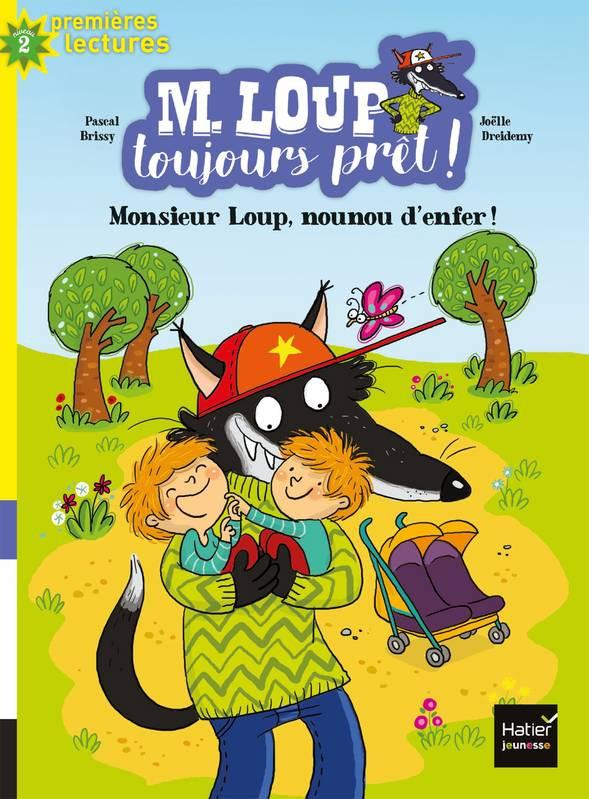 Couverture de Monsieur Loup, nounou d'enfer! # 5 (niv. 2)