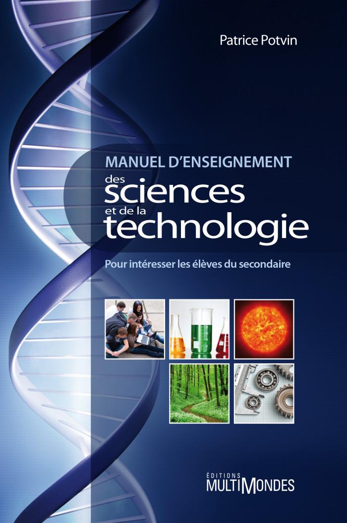 Couverture de Manuel d'enseignement des sciences et de la technologie