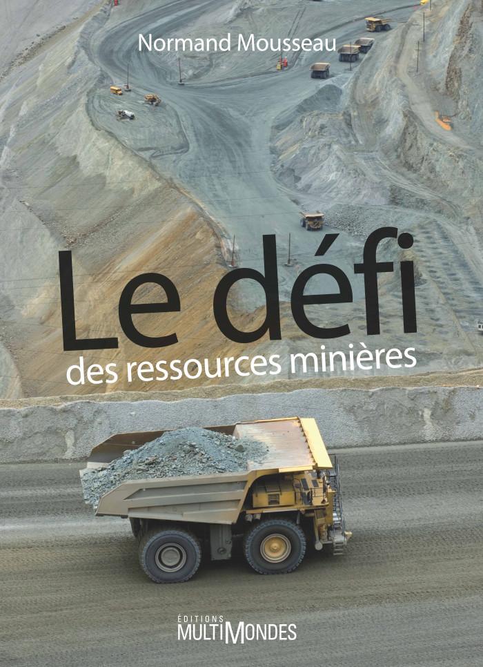 Couverture de Le défi des ressources minières