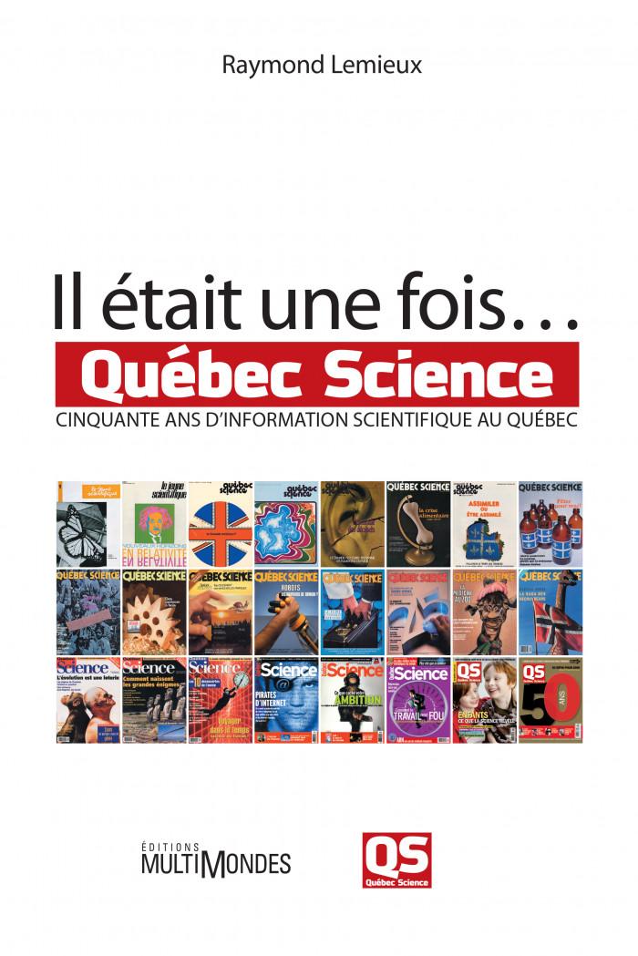 Couverture de Il était une fois... Québec Science