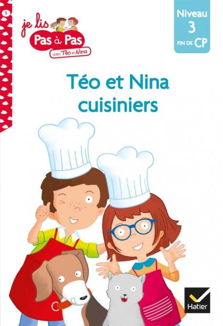 Couverture de Téo et Nina cuisiniers