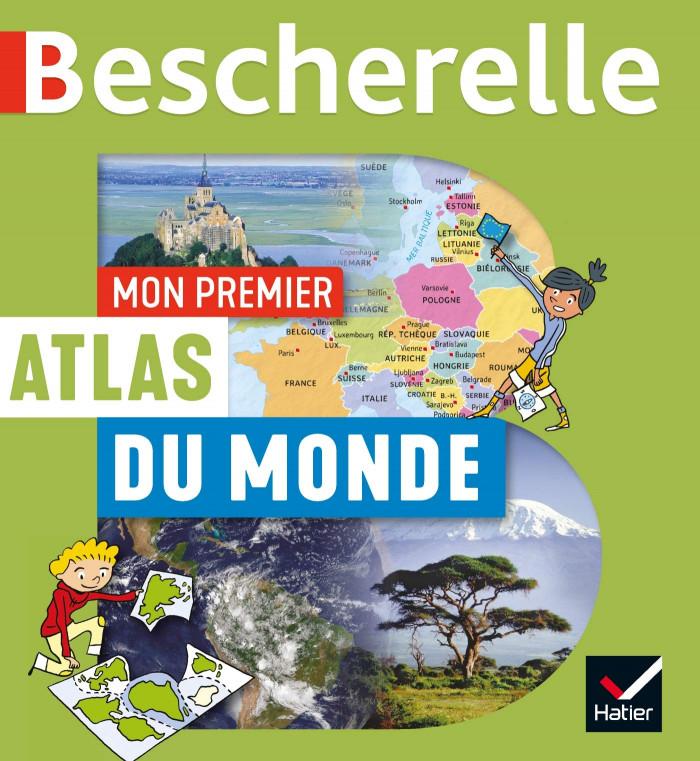 Couverture de Mon premier atlas Bescherelle du monde