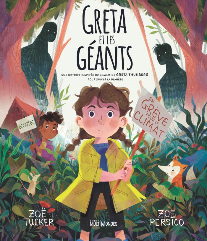 Couverture de Greta et les Géants