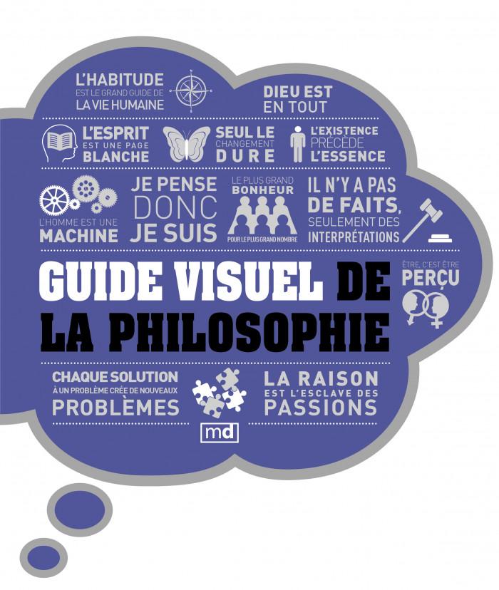 Couverture de Guide visuel de la philosophie