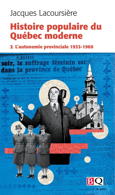 Couverture de Histoire populaire du Québec moderne - Tome 2