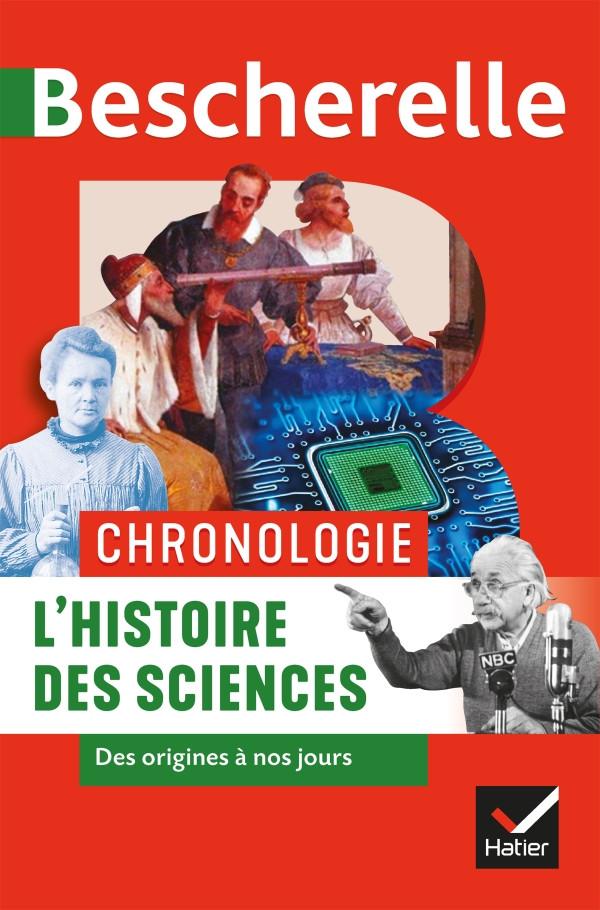 Couverture de Bescherelle - Chronologie de l'histoire des sciences