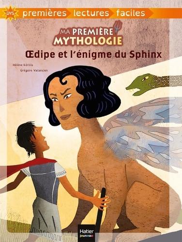 Couverture de OEdipe et l'énigme du Sphinx - adapté