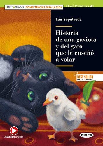 Couverture de Historia de una gaviota y del gato que le enseno a volar