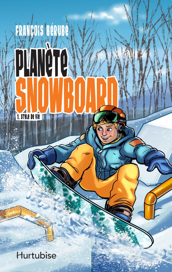 Couverture de Planète snowboard - Tome 1