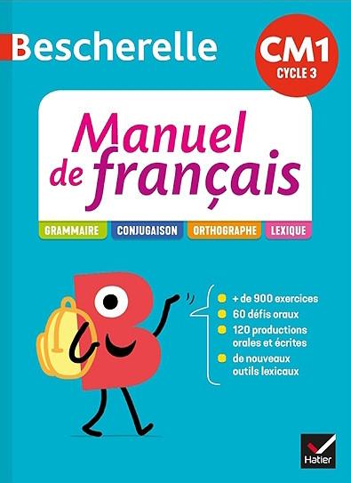 Couverture de Bescherelle - Manuel de Français, CM1