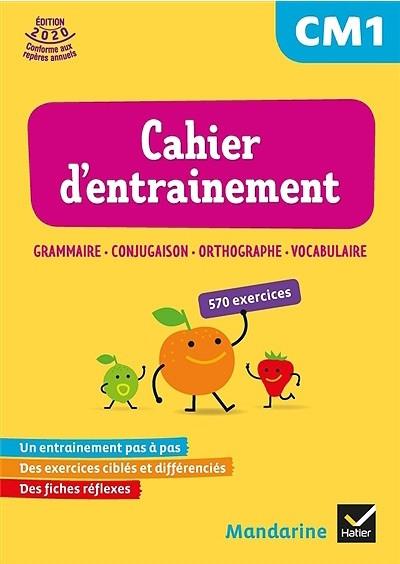 Mandarine Cahier D Entrainement Francais Cm1 Distribution Hmh