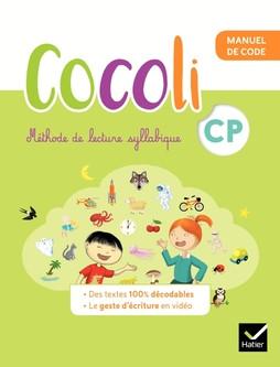Couverture de Cocoli - Manuel de code + Manuel de lecture - Compréhension, CP