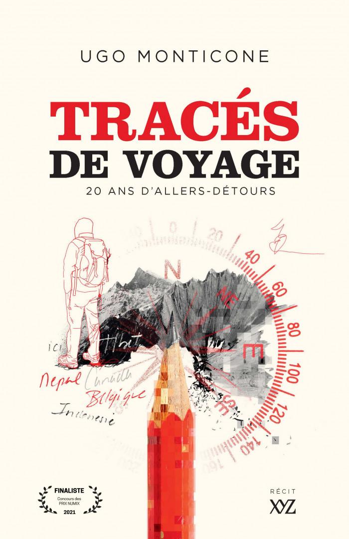 Couverture de Tracés de voyage