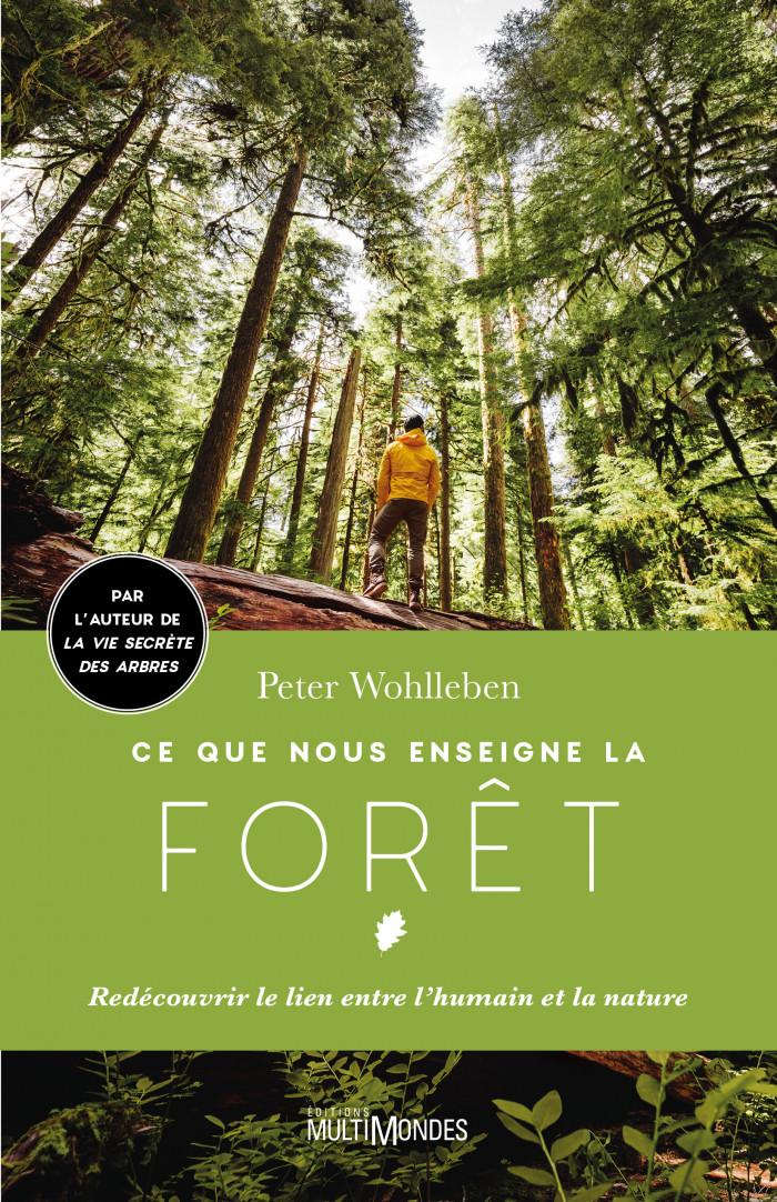 Couverture de Ce que nous enseigne la forêt