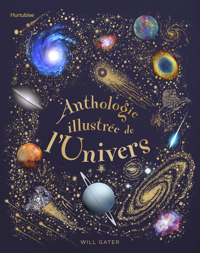 Couverture de Anthologie illustrée de l'Univers