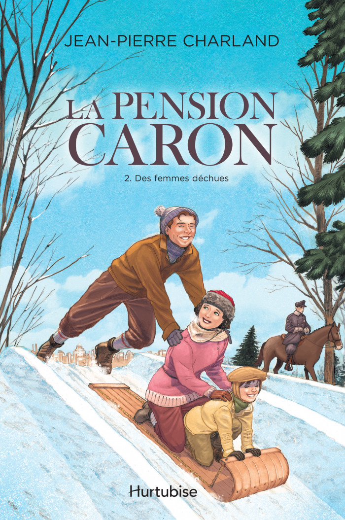 Couverture de La Pension Caron - Tome 2