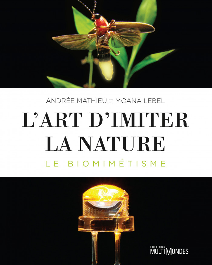 Couverture de L'art d'imiter la nature