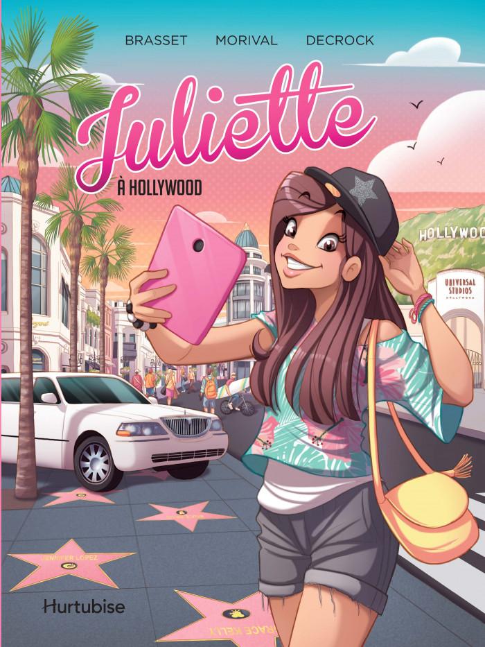 Couverture de Juliette à Hollywood - La BD