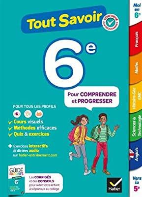 Couverture de Tout savoir, 6<sup>ème</sup>