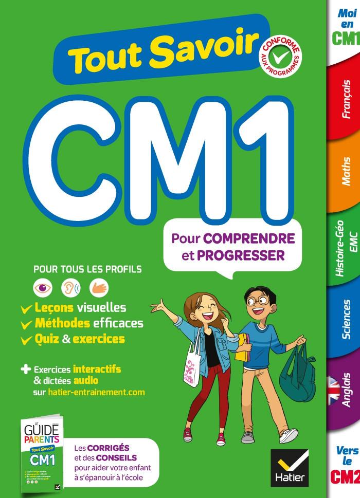 Couverture de Tout savoir, CM1