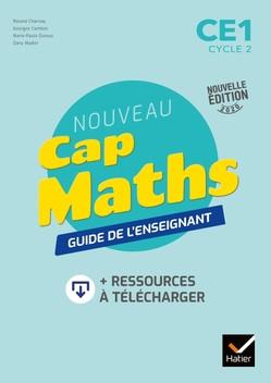 Couverture de Cap Maths - Guide de l'enseignant, CE1