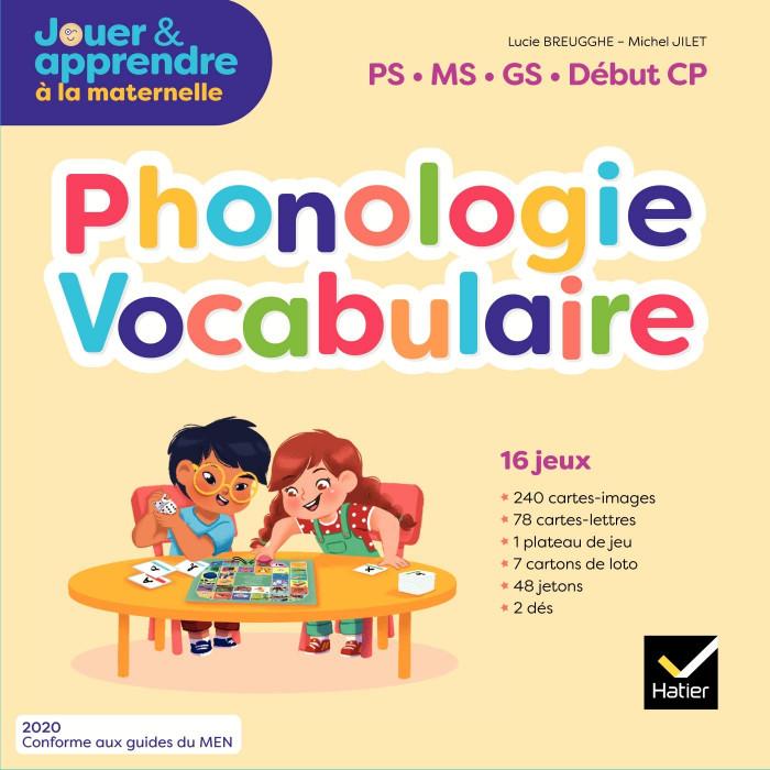 Couverture de Phonologie - Vocabulaire