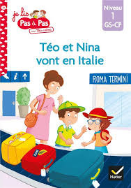 Couverture de Téo et Nina vont en Italie