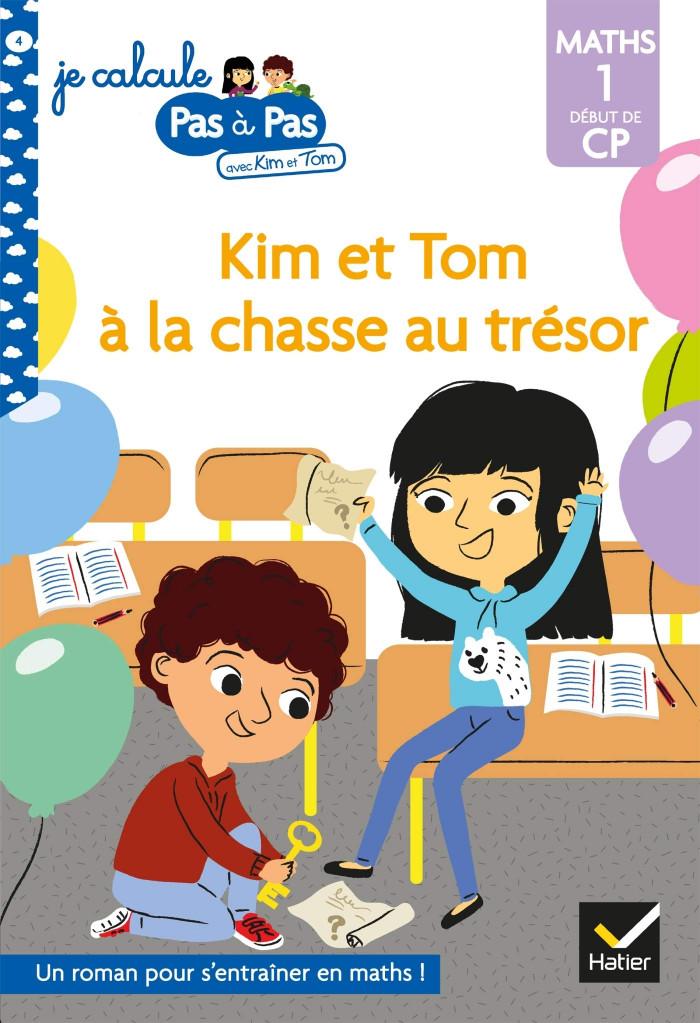 Couverture de Kim et Tom à la chasse au trésor