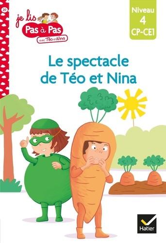 Couverture de Le spectacle de Téo et Nina