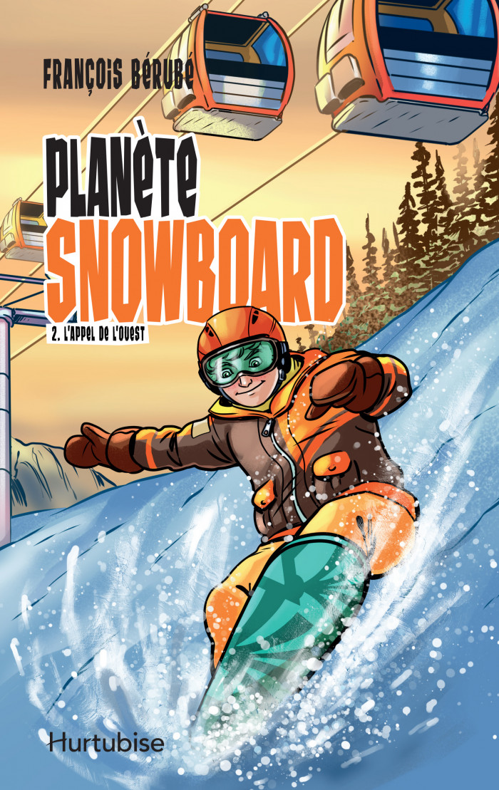 Couverture de Planète snowboard - Tome 2