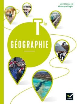 Couverture de Géographie Terminale - Livre élève