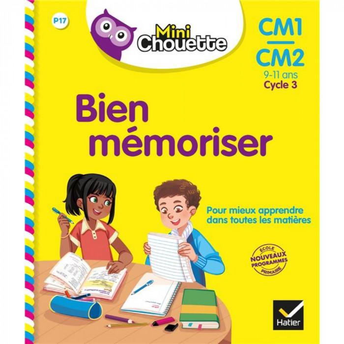 Couverture de Mini Chouette : Bien mémoriser, CM1/CM2