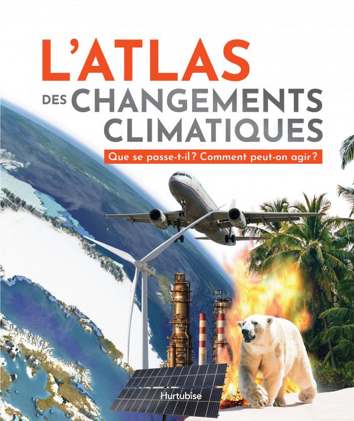 Couverture de L'atlas des changements climatiques
