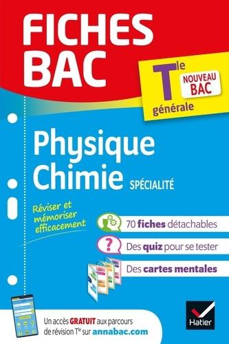 Couverture de Fiches BAC : Physique-Chimie spécialité, Tle