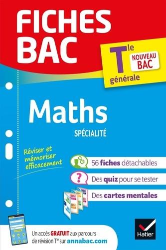 Couverture de Fiches BAC : Maths spécialité, Tle