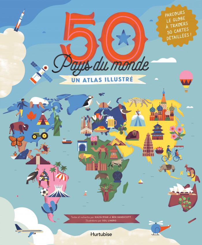 Couverture de 50 Pays du monde