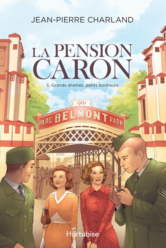 Couverture de La Pension Caron - Tome 3
