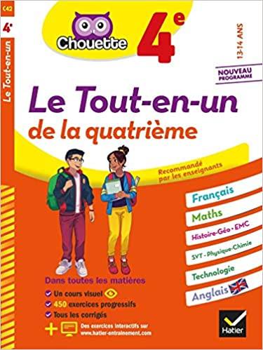 Couverture de Chouette : Le Tout-en-un, 4<sup>e</sup>