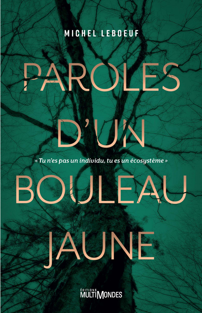Couverture de Paroles d'un bouleau jaune