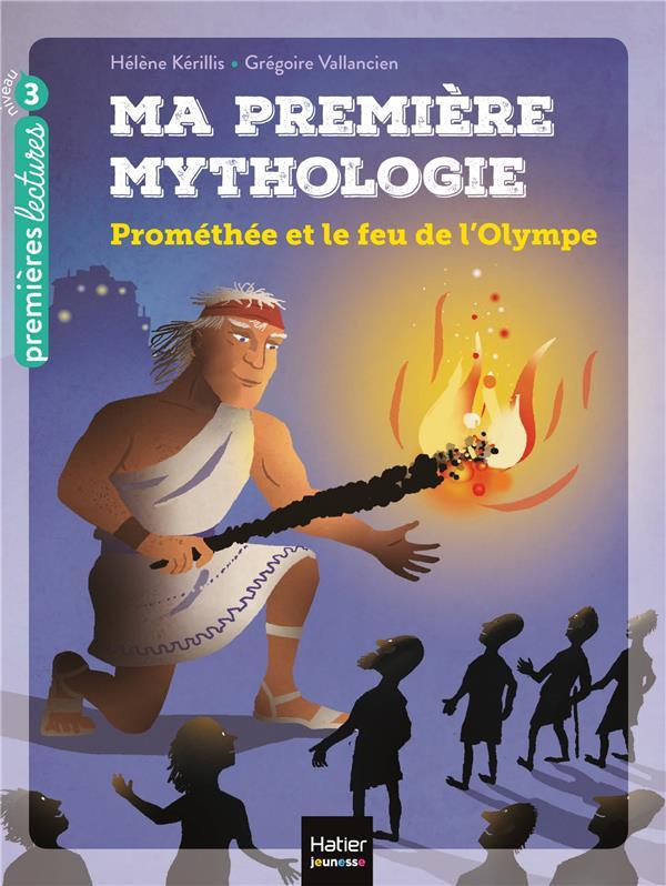 Couverture de Prométhée et le feu de l'Olympe # (niv. 3)