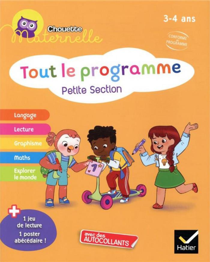 Couverture de Chouette Maternelle : Tout le programme, PS